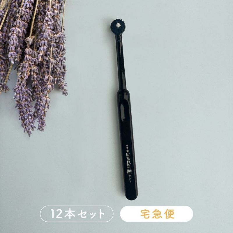 奇跡の黒歯ブラシ12本【宅急便】